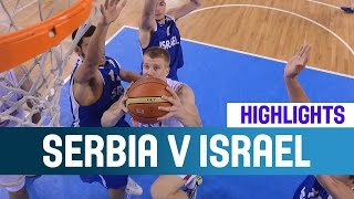 Serbia v Israel- Highlights - Quarter-Finals -2014 U20 European Championship