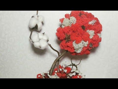DIY: ТОПИАРИЙ - ДЕРЕВО СЧАСТЬЯ своими руками. Tree Of Happiness.