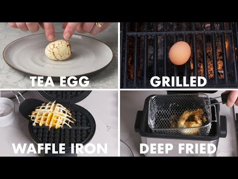 How to cook bacon and eggs on the grill