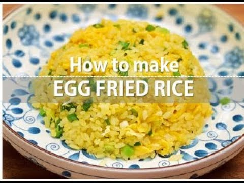 Din Tai Fung style pork chop and egg fried rice recipe