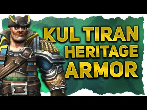 Kul Tiran Human Heritage Armor & Race Mount Preview | New Allied Race In Tides of Vengeance 8 1