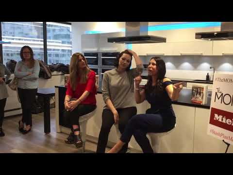 Laura Prepon Talks With The Moms About Nutrition Part One