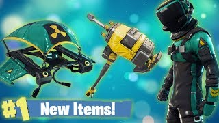 New Toxic & Hazard Skin + New Glider, Pickaxe! Fortnite Live Stream!