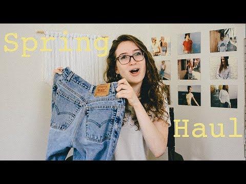 Spring Try-on Haul / Thrift Store, Brandy...