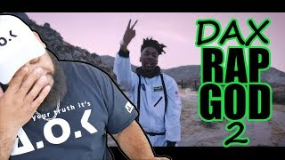 """He Wants Eminem Attention - Dax - """"RAP GOD 2"""" Freestyle [One Take Video]"""