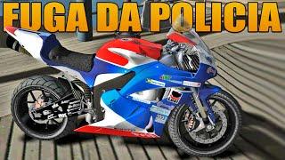 Fuga da Policia de Moto - GTA IV