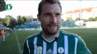 26. 07. 2015 - Bohemians Praha 1905 - FC Fastav Zlín 0:1 (0:1) - pozápasové rozhovory