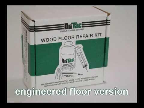 DriTac Wood Floor Injection Repair Kit - Order Online - DriTac Wood Floor Injection Repair Kit - Order Online - YouTube