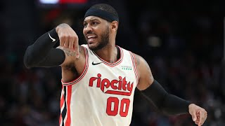B/R Countdown: Carmelo Anthony's Best Plays on the Trail Blazers