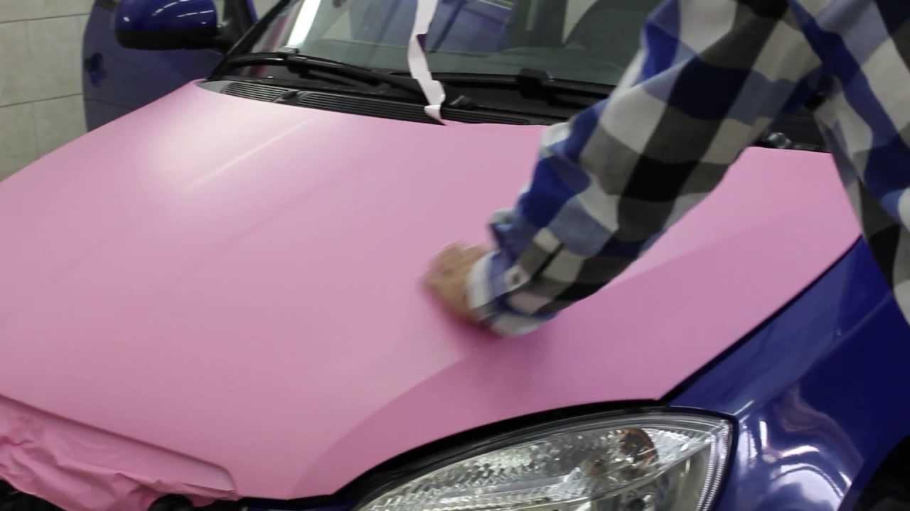 be155ac1c hello kitty car wrap škoda fabie - YouTube