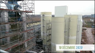 Video #4 Construction usine METEX NOOVISTA   17 12 2020