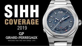 SIHH 2019: Girard-Perregaux Laureato Perpetual Calendar,  New 1966 Watch, Cosmos, and More!