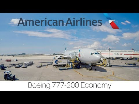 Trip Report | American Airlines | Miami - London | Economy | Boeing 777-200