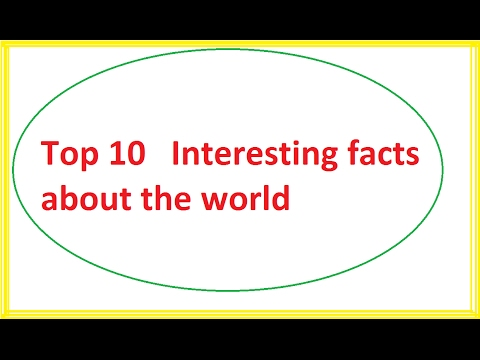 interesting facts around the world