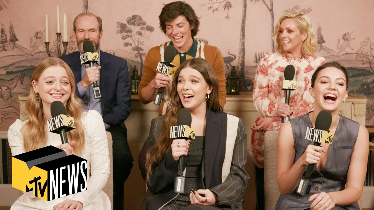 'Dickinson' Cast Plays Dive In | MTV News