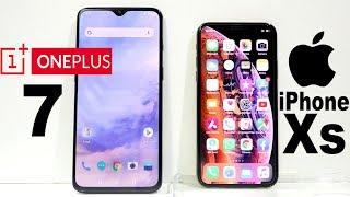 Oneplus 7 Vs iPhone XS Speed Test