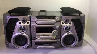 Panasonic SA-AK47 5 Disc Stereo System (4 Way 170W Monster Sound!)