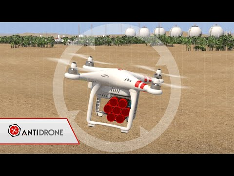 Anti-Drone System for UAV detection and neutralization