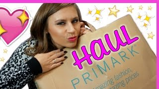 Primark Haul Dezember 2015 | Try on | Winter Edition | RealNathaLee