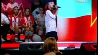 Sara Cvetic-Prvi Srpski Talenat- Hej Sloveni
