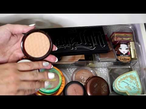 Shop My Stash/Everyday Makeup Drawer! 2017 | DreaCN