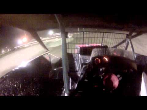 Black Rock Speedway Crate Modified Feature on August 21,2015