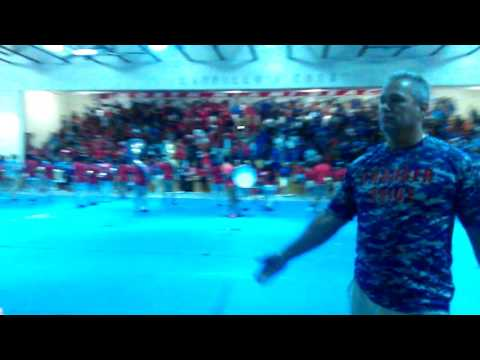 North Miami Beach senior high school pep rally
