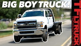 When a Dually Just Won't Do - This Chevy Silverado HS 5500 Is The Biggest Truck GM Builds!
