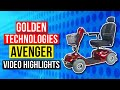 Golden Technologies Avenger 500lb Capacity 4 Wheel Scooter GA541D Review