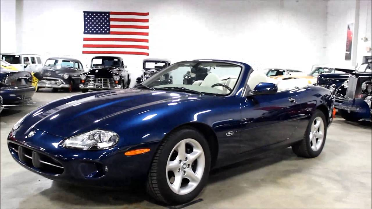 2000 jaguar xk8 convertible youtube. Black Bedroom Furniture Sets. Home Design Ideas