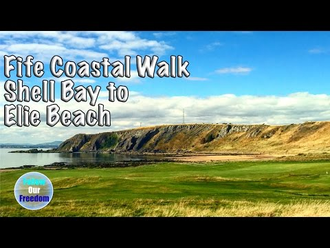 Fife Coastal Path - Shell Bay to Elie Beach Walk - Visit Scotland - VLOG 14