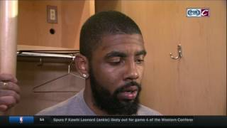 Kyrie Irving says Cavaliers were served slice of humble pie | Cavs-Celtics postgame | NBA Playoffs