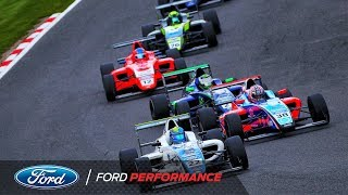 Brands Hatch GP Highlights | F4 British Championship | Ford Performance