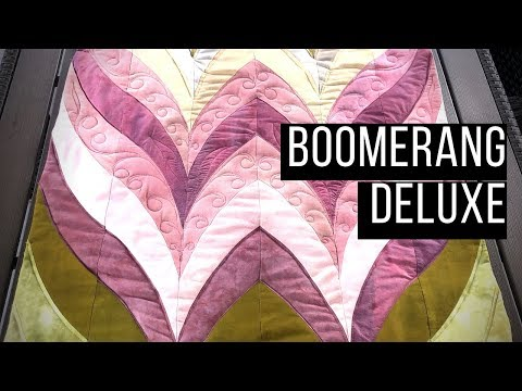 Boomerang Deluxe -- Amazing And Easy Pattern, Free Patchwork Tutorial