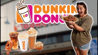 PUMPKIN SPICE 2020 IS HERE! Eating the ENTIRE Fall Menu at Dunkin Donuts
