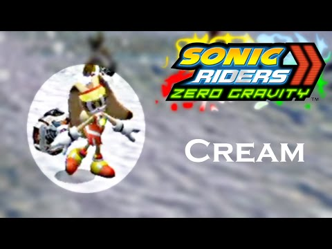 Sonic Riders Zero Gravity WGP - Cream