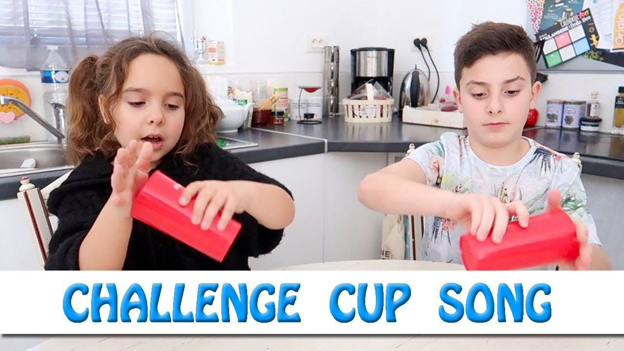 challenge cup song en famille c andacharitycup youtube. Black Bedroom Furniture Sets. Home Design Ideas