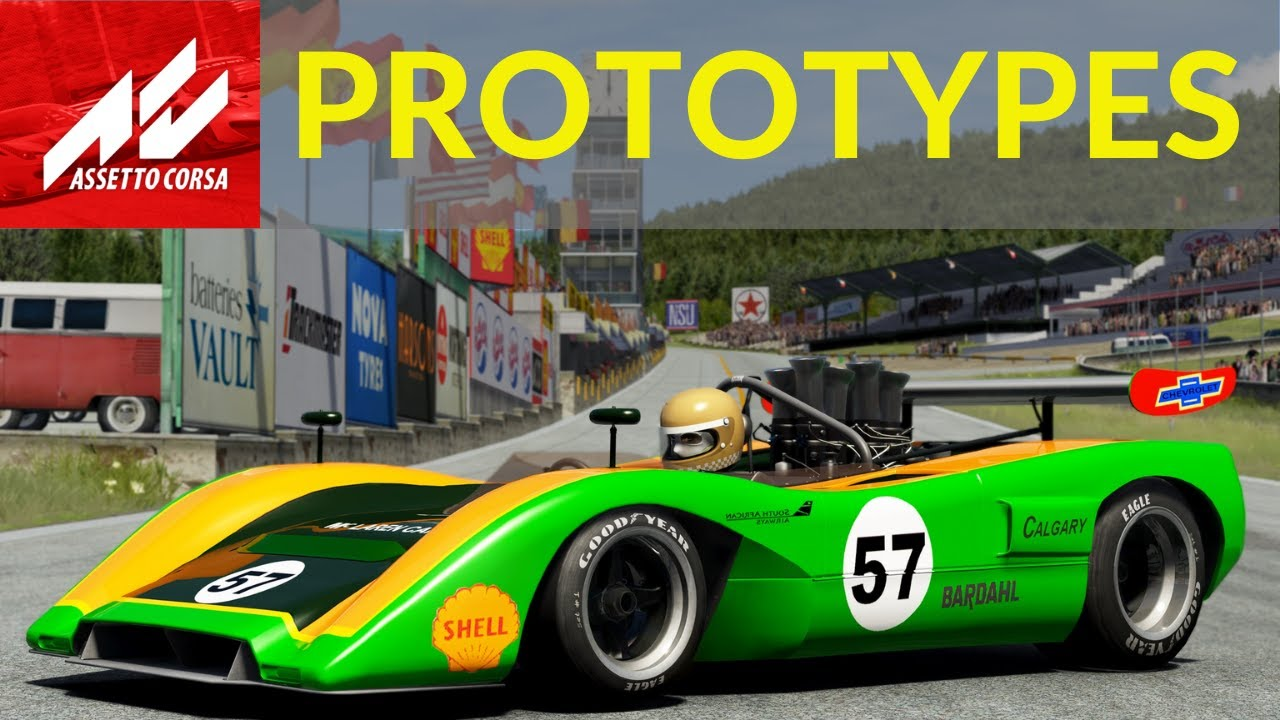 Best 1960s prototypes mods Assetto Corsa