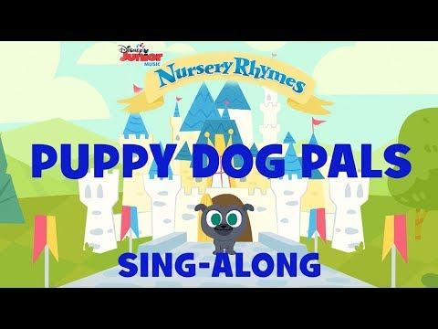 Sing-Along With Puppy Dog Pals!   🎶Disney Junior Music Nursery Rhymes   Disney Junior