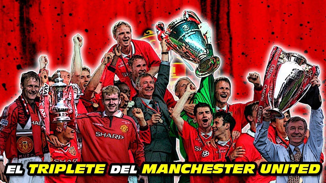 El TRIPLETE 🏆🏆🏆 del MANCHESTER UNITED 👹 (Champions League, Premier League y FA Cup 1999)