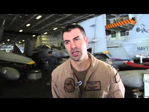 U.S. Navy Weapons Systems Officer insights on flying Iraq missions