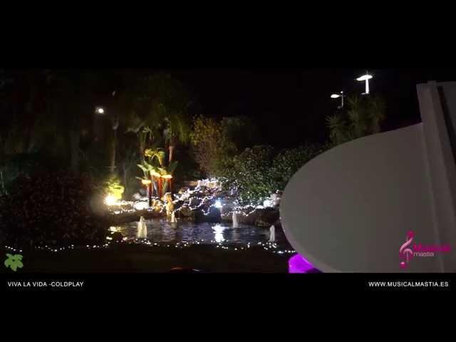 Musica bodas Murcia Viva La Vida - Coldplay Piano cola blanco y trio de cuerda Casón de la Vega