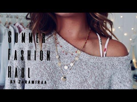 SUMMER FASHION HAUL ▹ Zaramiraa ♡