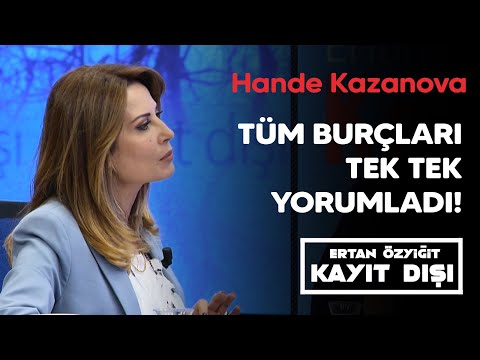 Astrolog Hande Kazanova tüm burçları tek tek yorumladı...