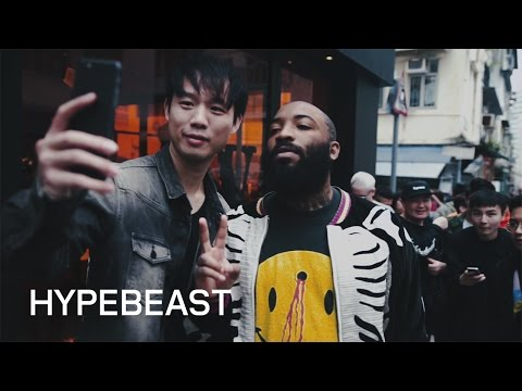 Watch A$AP Bari Cause a Frenzy at the VLONE Pop-Up in Hong Kong