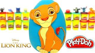 Aslan Kral Simba Sürpriz Yumurta Oyun Hamuru Play Doh Yeni Oyuncaklar Türkçe Oyuncak İzle