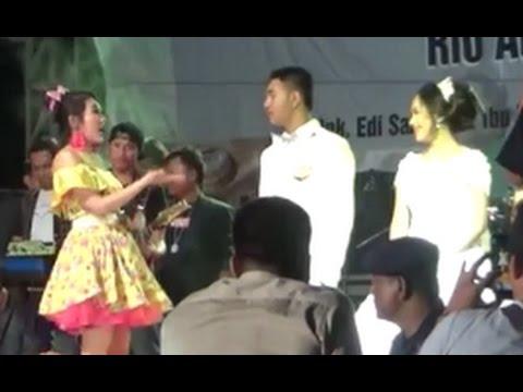Via Vallen SAYANG Om Sera Live Cilacap Duet Bareng Pengantin, Resepsi Pernikahan Rio Aditya & Nelyda