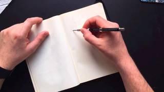 Part 1/3: Pencil drawing 2D platform environment for game concept art