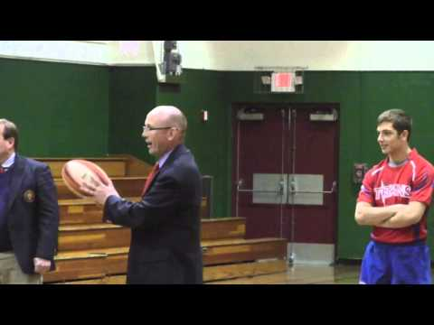 Wilbraham & Monson Rugby Clinic at Wilbraham Middle School 4-11-13