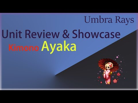 Unit Review and Showcase Kimono Ayaka, Видео, Смотреть онлайн